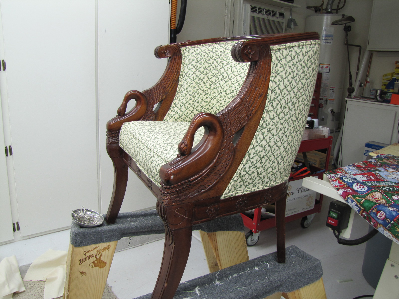 Before Swan Chair